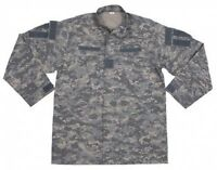 New Mens US Army Style ACU FIELD RIPSTOP Jacket AT - DIGITAL CAMO Generous size