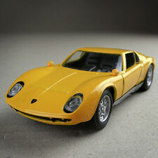 1966 Lamborghini Miura Yellow 1:32 Scale Die-cast Model Car 12.5cm Long  Unboxed