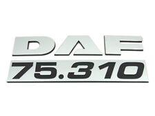 Genuine New DAF 75.310 DOOR BADGE CF Lorrie Loader Truck Tipper Truck Wagon