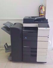 Konica Minolta Bizhub C454e, Color Printer Scanner Network  84K Booklet & Fiery