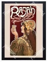 Historic Rajah Coffee 1899 Advertising Postcard