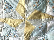 """Hand Made Quilted Pillow Sham 23"""""""
