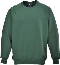 Portwest Workwear Roma Sweatshirt - B300 Small Bottle B300BGRS