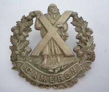 CAMERON HIGHLANDERS GENUINE CAP BADGE