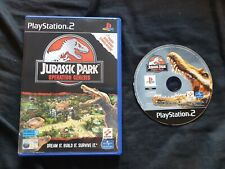 JURASSIC PARK OPERATION GENESIS Sony Playstation 2 Game PS2