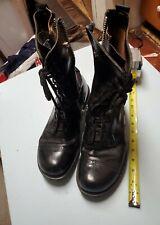 Vintage leather zip up military corcoran boots READ DESCRIPTIONS,,,