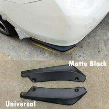 2pcs Universal ABS Car SUV Rear Bumper Splitters Diffuser Scratch Protector Kit