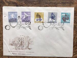 POLAND 1958 FDC, 400th anniversary of Polish postage