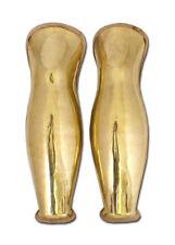 Battle Merchant Griechisch Beinschienen Paar Messing 52cm Plattenrüstung