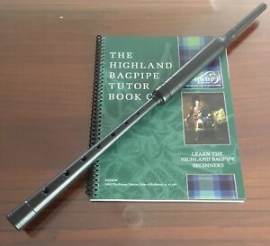 Bagpipe Learners Package- Standard Practice Chanter, Tutor Book and Videos