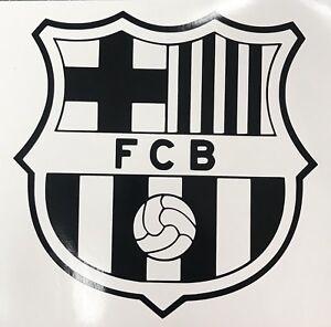 FC BARCELONA Logo Soccer Football Car Window Truck Laptop Vinyl Decal Sticker