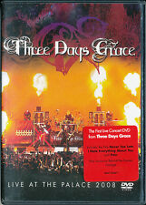 Three Days Grace Live at The Palace 2008 DVD (never played)