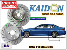 "BMW F10 disc rotor KAIDON (Rear) type ""BS"" / ""RS"" spec"