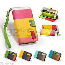 Custodie portafoglio Per Samsung Galaxy S4 Mini in pelle sintetica per cellulari e palmari