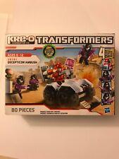 2012 Transformers KRE-O Decepticon Ambush Set 80 pieces