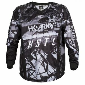 New HK Army Paintball HSTL Line Playing Jersey - Charcoal Gray - X-Large XL