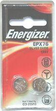 Energizer Silver Oxide SR44 Single Use Batteries