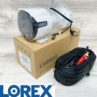 Lorex 5MP Smart Ultra 1080p HD Night Vision Security Video Camera White C581DA-Z
