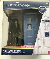 Doctor Who ' Fourth Doctor Regenerated and Tardis ' Action Figure Set