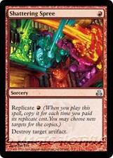 SHATTERING SPREE Guildpact MTG Red Sorcery Unc