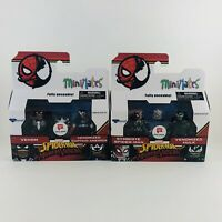 Minimates Marvel Walgreens Exclusive Spider-Man MAXIMUM VENOM Hulk LOT Of 2