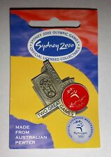 Sydney 2000 Olympics Games Two great Cities Two great games Collectable Pin