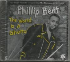 PHILLIP BENT w/ WILL DOWNING The World Is a ghetto PROMO CD Single SEALED 1993