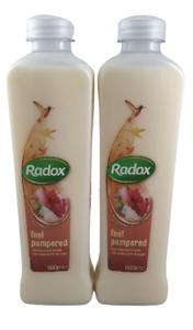 radox bath cream feel pampered, 500 ml x 2