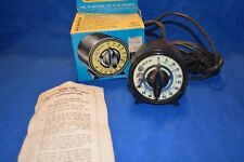 Mark-Timer Photographic Time Switch with Luminescent Dial (with Orginal Box )