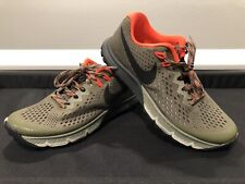 f909403487 Nike Air Zoom Terra Kiger 4 Olive Men's Size 7 Running Hiking Shoes