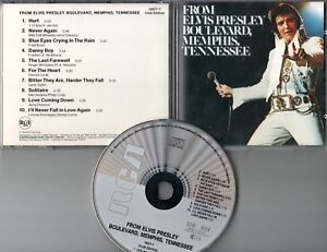 Elvis Presley  CD  BOULEVARD , MEMHIS, TENNESSEE    (c)  1976    CLUB EDITION