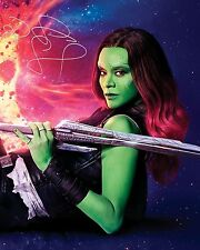 GotG Vol 2 ZOE SALDANA (Gamora) #3 - 10X8 PRE PRINT LAB QUALITY PHOTO PRINT