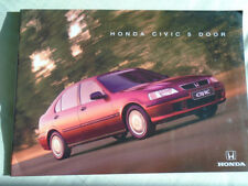 Honda Civic 5 Door range brochure Mar 1998