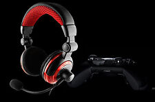 DELUXE HEADSET HEADPHONE WITH MICROPHONE FOR XBOX ONE & S X PS4 PC MAC TABLETS