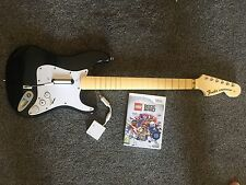 Rock Band Game & Guitar Controller Wii