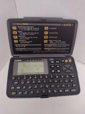 CASIO B.O.S.S. BOSS SF-4600B 64KB business organizer scheduling system POCKET
