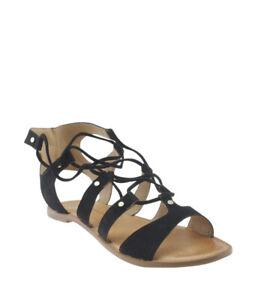 Dolce Vita Jasmyn Black Suede Sandals, Size 11
