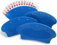 Set of Four Hands Free Playing Card Holders