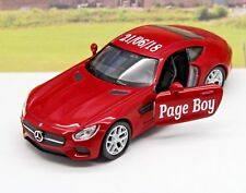 Wedding Day Car Gift Personalised Name Page Boy Usher Mercedes Toy Present Boxed