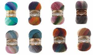 Alize Angora Gold Batik 100g Ball 10 Variations