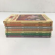 Lot of 7 Boxcar Children Books Chapter Books Warner