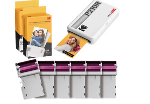 Kodak Mini 2 Retro Portable Photo Printer + 68 sheets refill