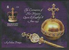 Alderney - 2003, Anniversary of Coronation sheet - MNH - SG MSA203
