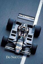 James Hunt Wolf WR8 Monaco Grand Prix 1979 Photograph 3