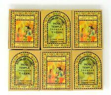 Song Of India - India Temple Incense Cones - U Choose Quantity!