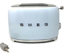 SMEG Pastel Blue Retro Style 2 Slice Toaster 950W Electric