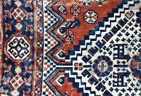 Vintage Old Rug Pillow - Tribal  Textile - Oriental Carpet Kilim Accent Pillows