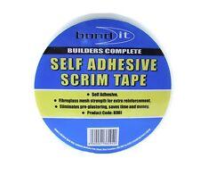 "Bond It Plaster board Scrim Tape 48mm (2"") x 90m - Pro Jointing Repairing Tape"
