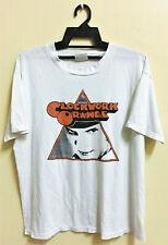 Vintage 80s Stanley Kubrick A Clockwork Orange 50/50 Punk Rock Movie T-Shirt