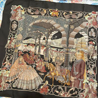 🐎 Hermes RARE ITEM collectibles scarf carres 90 splendeur des maharajas F/S